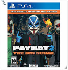 PS4 Payday 2 The Big Score SONY PLAYSTATION Games Action 505 Games