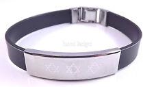 Estrella De David Judaica Pulsera Kabbalah joyería De Plata Hebreo judío Regalo Megen