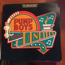Pump Boys And Dinettes On Broadway-LP-CBS-VG+
