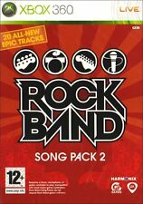 Xbox 360 Game Rock Band Rock Band Song Pack 2 New