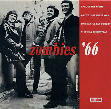 """ZOMBIES  """"CALL OF THE NIGHT + A LOVE THAT NEVER WAS + 2 MORE""""  EP  60's  LISTEN!"""