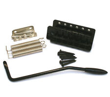 LEFTY Black Tremolo for Mexican Standard Fender/Squier Import Strat® SB-5212-L03