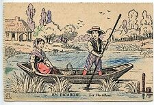 POSTCARD / CARTE POSTALE / ILLUSTRATEUR / EN PICARDIE LES HORTILLONS