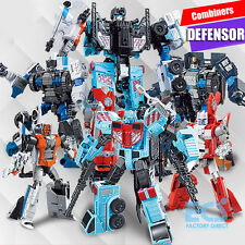NEW G1 Transformers Protectobots Combiner Defensor Action Figure Toys Devastator