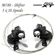 Shimano Deore XT M780 Shifter 3 x 10 Speed Black with Gear Display