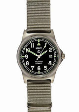 Official MWC G10LM Watch Grey Strap 50m Water Proof Military Quartz G1098