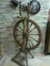 18th century Imperial Russia Antique Primitive Spinning Wheel,handmade originals
