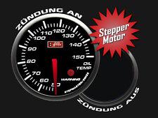 Auto Gauge STEPPER LED Zusatzanzeige Zusatzinstrument Öltemperatur inkl. Geber