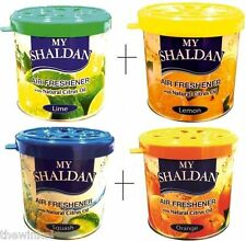 Combo of My Shaldan Car/Home Gel Air Freshener 320g (Lime+Lemon+Orange+Squash)