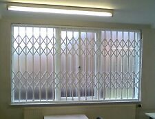SECURITY GRILLES FOR BUSINESS OFFICE HOME WINDOWS & DOORS CONCERTINA BARS GATES