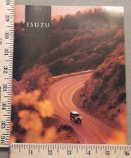 1993 Isuzu Brochure Trooper Amigo Impulse Full Line