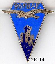 2607 - INFANTERIE - 96e B.A.F