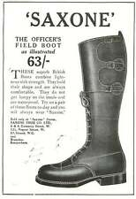 WW1 Officers Field Boot Don't Get Lumpy Saxone Ad