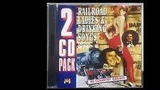 Railroad Ladies & Drinking Songs 2 cd Pack 40 Country Greats J&B - JB519CD