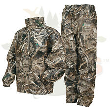 Camo Frogg Toggs All Sport Rain Suit Realtree Max 5 Gear Jacket & Pants SM