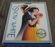 Walt Disney SNOW WHITE and THE SEVEN DWARFS DVD & BLU-RAY 2 Disc SET NEW
