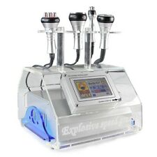 5 in 1 Cavitation Spa Vacuum Bipolar RF Body Slimming Celluite Removal Machine