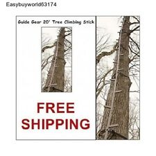 NEW! Tree Climbing Sticks 20' Ladder Stick for Tree stand Climbing Bow Hunting