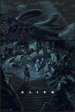 Alien variante alternative movie poster par mondo artiste laurent durieux no./225