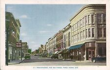 Canada Trois-Rivieres QC - Rue des Forges old postcard