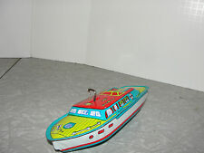Vintage Wind Up Mark I Chris Craft Boat