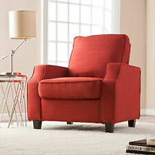 JAC20529 CHERRY RED ACCENT ARM CHAIR