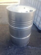 44 Gallon/200 Litre Stainless Steel Drum - Food Grade