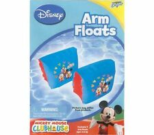 Disney Mickey Mouse Clubhouse Swim Wings Armbands Arm Floats Pool Floaties NIP