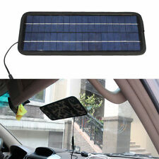12V 4.5W Battery Portable Car Boat Power Solar Panel Battery Charger Panel Black
