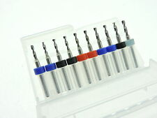 2.0mm 2.1mm 2.2mm 2.3mm 2.4mm 2.5mm Mixed Tungsten Carbide Micro Drill Bits