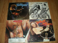 Ted Nugent-Lot of 4 LPS-Free For All-Ted Nugent-Penetration-The Best Of /Rock
