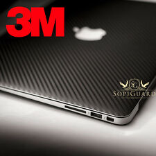 SopiGuard 3M 1080 Carbon Fiber Skin Top Bottom KB Apple Macbook Pro 13 Retina