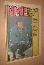 NME 1978 DEC 23 JOHN LYDON ex sex pistols NEW MUSICAL EXPRESS magazine PUNK