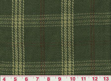 Linen Cotton Green Plaid Upholstery Fabric Clarence House Judd Check CL Green