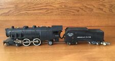 AMERICAN FLYER 302 AC LOCOMOTIVE ENGINE & READING  LINES TENDER POST WAR