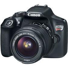 Canon EOS Rebel T6/ EOS 18 MP Digital SLR Camera - Black (Kit) New in box
