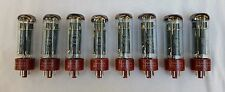 New 8x Tung-Sol EL34B / EL34 | Matched Octet / Eight Tubes | Free Ship
