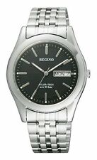 100% Authentic! CITIZEN REGUNO RS25-0096B Silver Black New Men's Watch Japan
