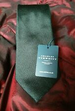 Brand New with tags CHARLES TYRWHITT SILK TIE BLACK rrp£24.99