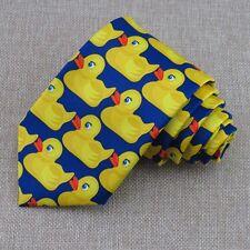 yellow rubber Duck Tie Men's HIMYM How I Met Your Mother Barney's Ducky Tie 8CM