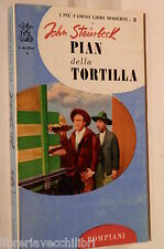 PIAN DELLA TORTILLA John Steinbeck Elio Vittorini Bompiani Romanzo Racconto di e
