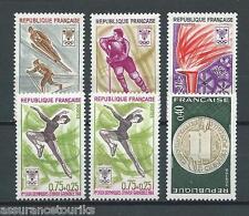 JEUX OLYMPIQUES - 1968 YT 1542 et 1543 à 1547 - TIMBRES NEUFS** LUXE