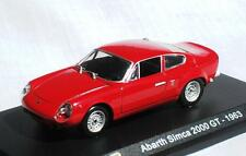 FIAT ABARTH SIMCA 2000 GT 1963 1:43 AH15 NEW METRO MODEL