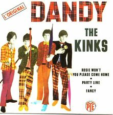 ★☆★ CD SINGLE The KINKS Dandy EP - 4-TRACK CARD SLEEVE  ★☆★