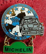 RARE PIN'S RALLYE TEAM DIAC PLAQUE MICHELIN RENAULT CLIO WILLIAMS