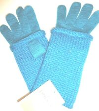 Ladies Women's Fownes Fingerless  Sparkle Gloves, Teal, O/S