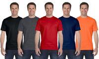 Men's Boys Top Quality Plain 100% Cotton Blank Tee Shirt Tshirt T-Shirt
