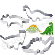 Stainless Steel Dinosaur Animal Cutter Biscuit Cookies Pastry Cake Fondant Mould