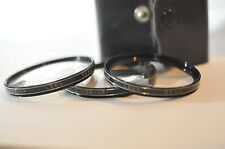Vivitar 52mm Close Up Filter set for Nikon Canon Sony Tamron Sigma Pentax lens