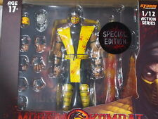 (In stock)  Storm Collectables Mortal Kombat SCORPION figure (SPECIAL EDITION)
